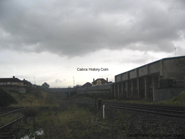 Cabra West Railway Line