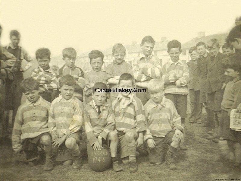 Killala Football Team 1946 Thanks to Michael Hayes