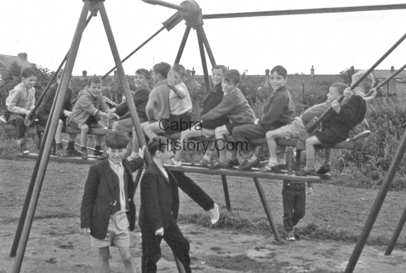 Lads at the Sunshine House in Balbriggan 1959