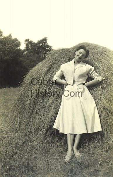 Betty O\'Neill in Wexford 1954