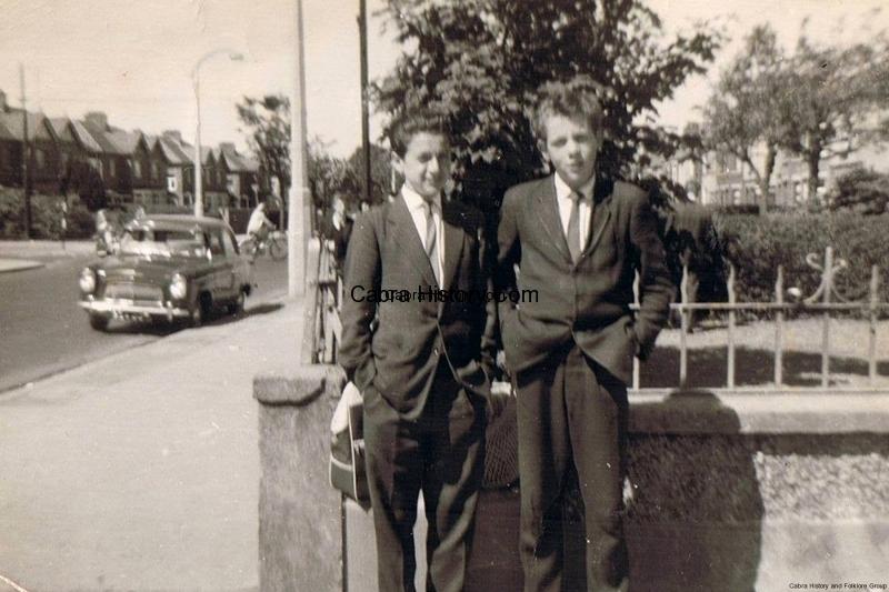Brendan Jordan & Tony Sheridan-Annamoe-Cabra-1961