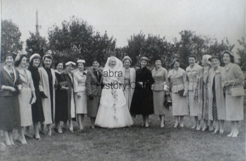 Bridie Hentschel with the Royalettes-Cabra-West-1957-