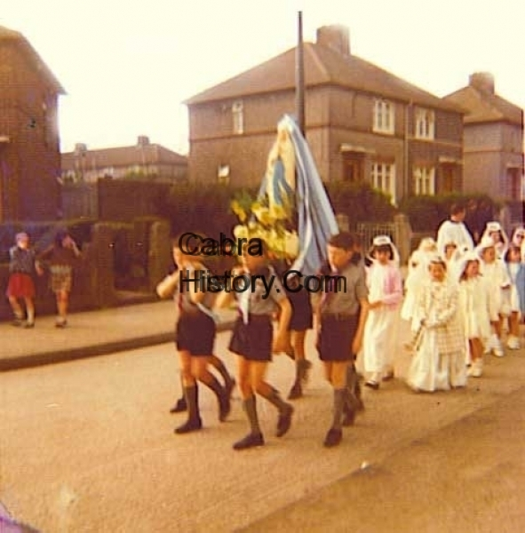 The May Procession Cabra West 1969