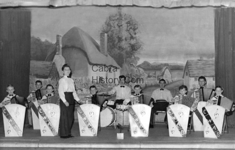 Cabra West Boys Accordian Band thanks to Alan L\'Estrange