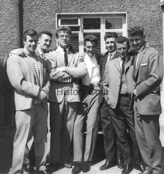 The Lads on Dingle Road in the 1960\'s