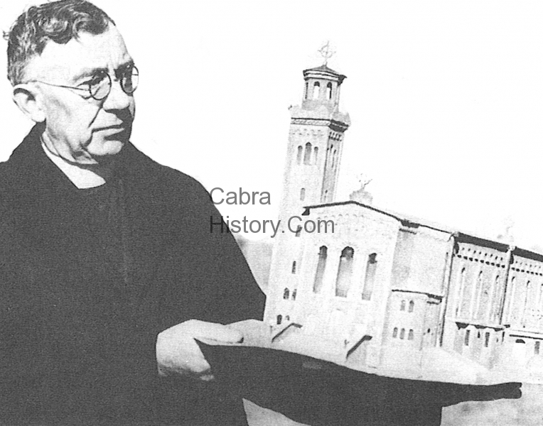 Canon Burke & his dream for a church