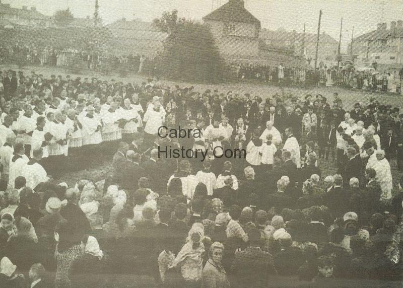 Canon Burke\'s funeral Sept 1966