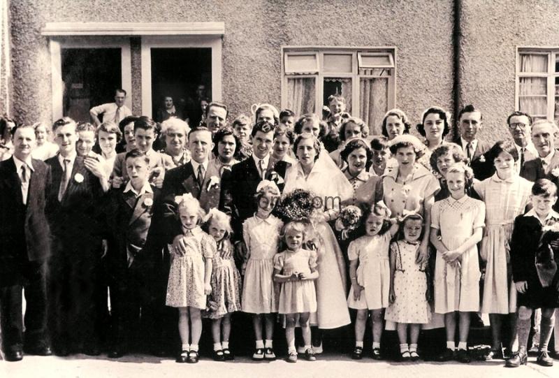 Jim & Carmel Clery wedding Dingle Road 1953