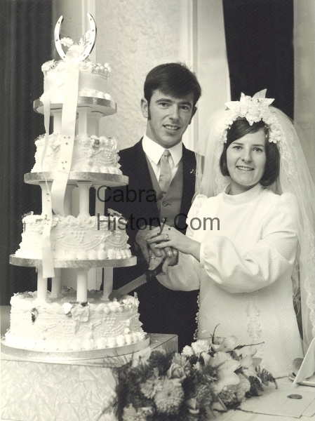 Eddie Mitchell & Anne Bergin 26th Sept 1970