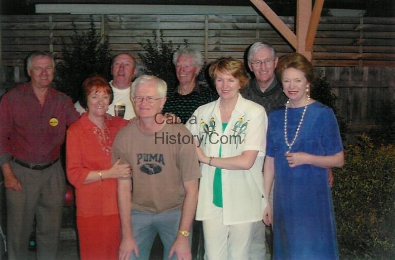 Dunne Family in Melbourne Australia 2003