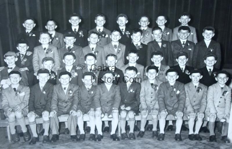 Eamon Carey & St Finbarrs School 1960