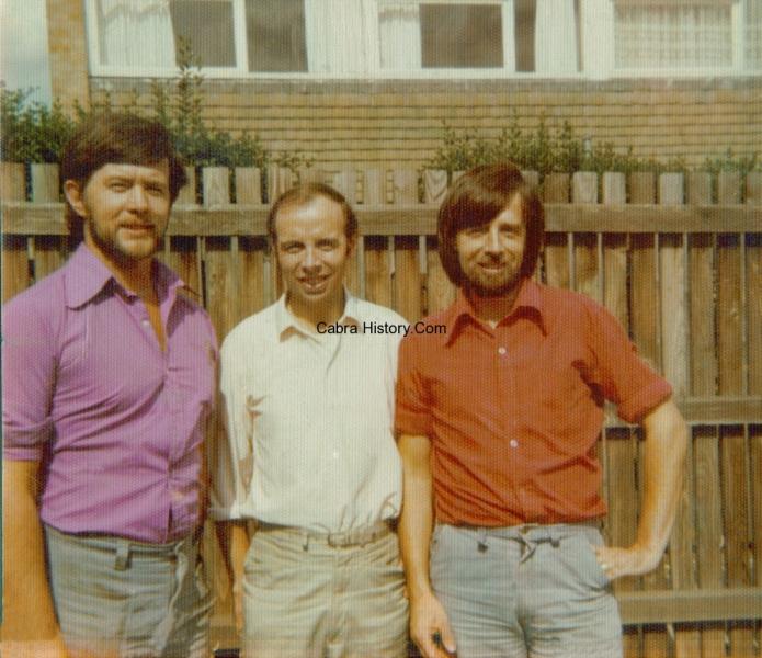 Eugene Rooney with Shay & Noel Jordan 1974