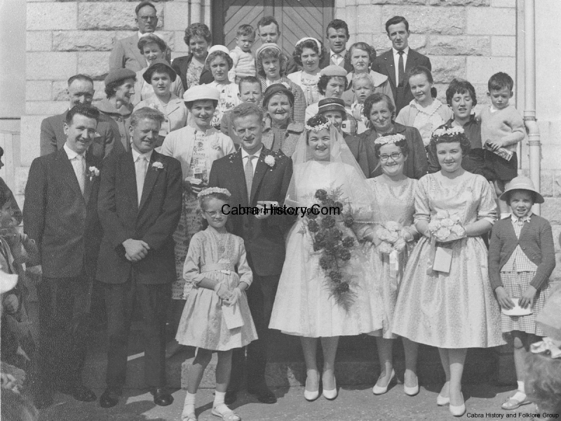 Martin Branagan & Eileen Hayes Wedding Party 1959