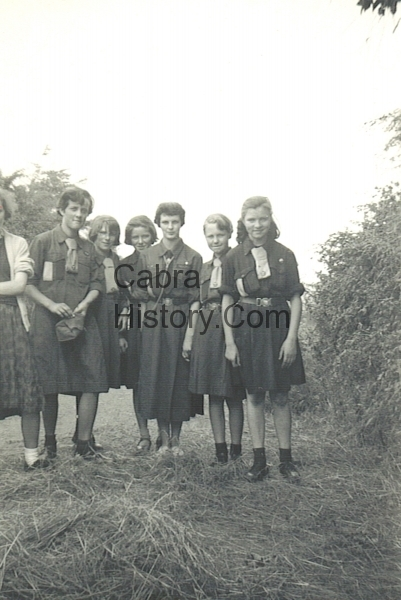Cabra Girl Guides 1959