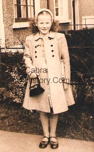 Ida O\'Callaghan on her Confirmation day