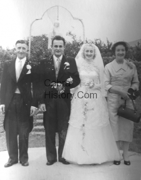 Joe Malone-Horst Hentschel-Bridie Malone & Molly Malone-15th-Oct-1957-Cabra West Wedding