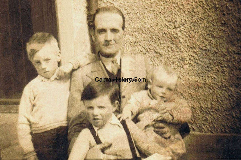 The Jordan Family 35 Mulroy Road about 1947 thanks to Shay Jordan
