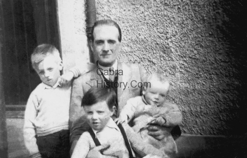Mister Jordan and his boys 35 Mulroy Road 1947