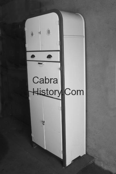 An old style kitchen dresser