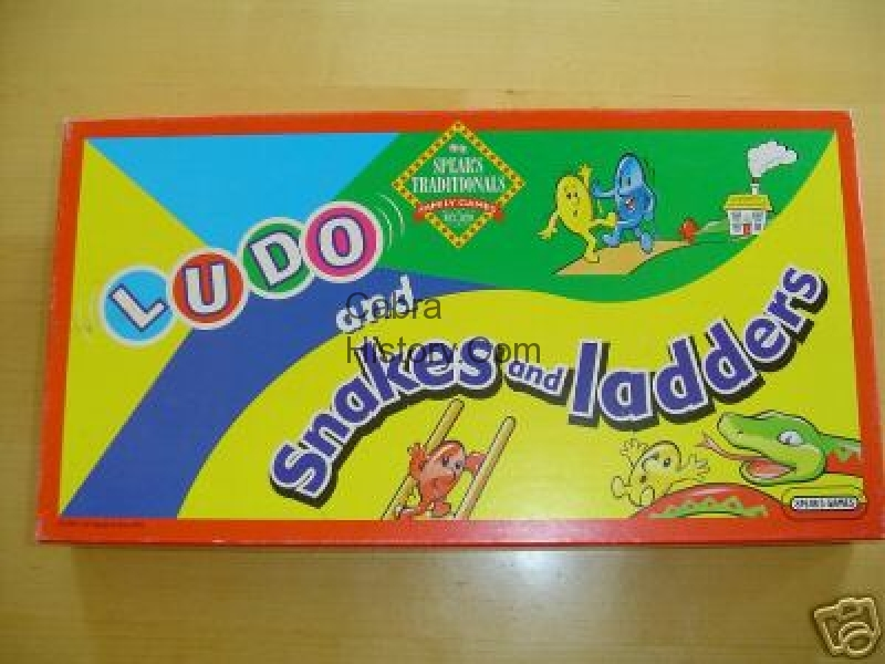 Ludo with Snakes & Ladders