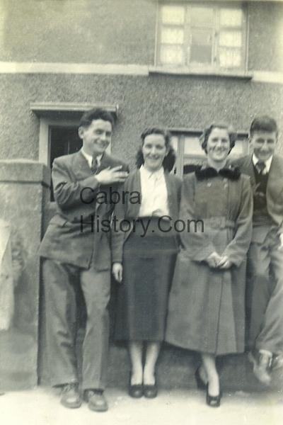 Mary Whelan & Mary Clarke with two lads