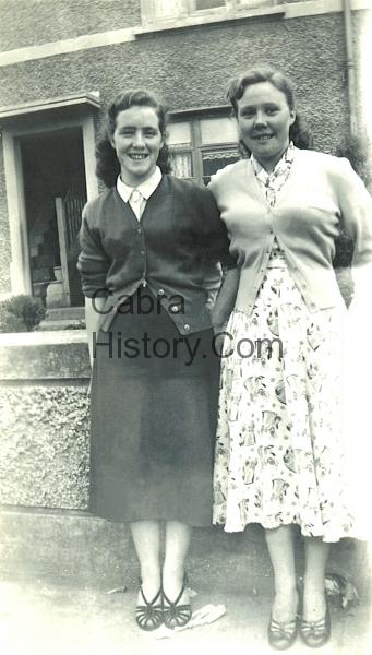 Marie Whelan & Olive Jordan 1954