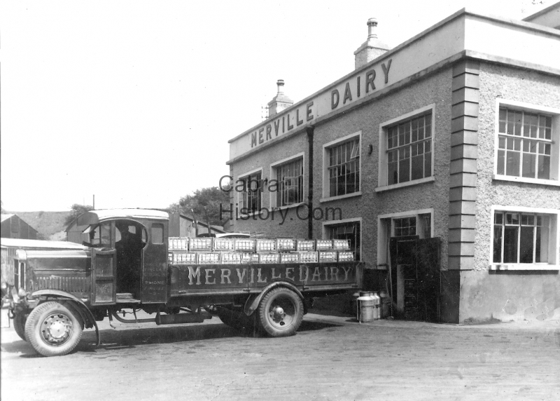 Merville Dairies Lorry 1932