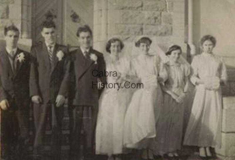 May Moore & Peter Mooney Wedding