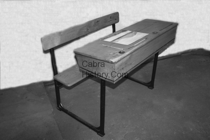 The old school desk