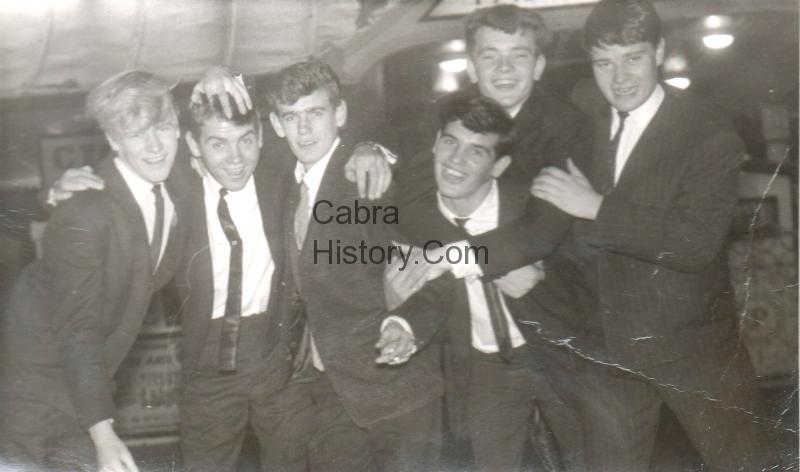 Cabra Lads in Brighton 1963