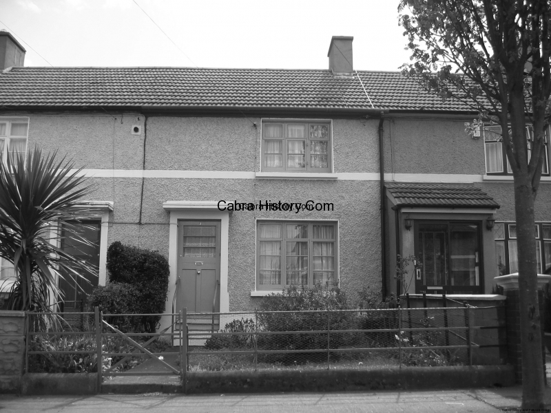 Original House Front in Cabra West