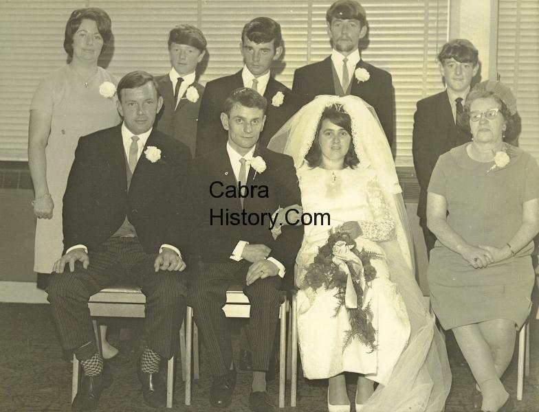 Gerry & Margaret O\'Shea wedding 29th July 1967