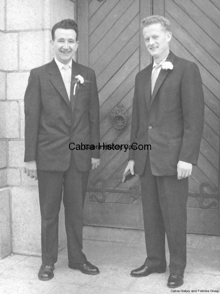 Paddy Hayes Killala Road & Martin Branagan Carnlough Road 1959