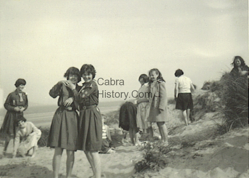 Patty & June O\'Neill Carnlough Road 1959