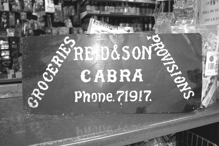 The old messenger bike sign