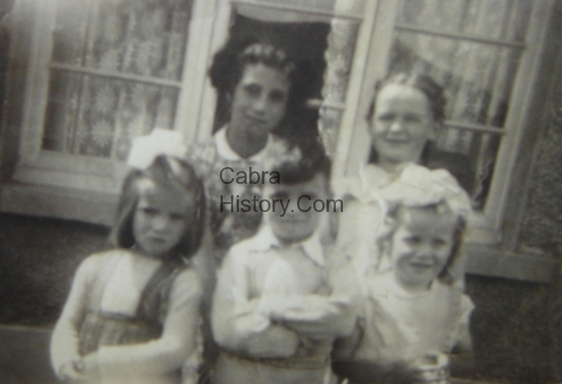 Joan on the left with her brother paddy & Friends from Joan O\'Connor