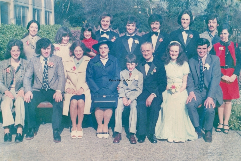 The Coffey Family 1974
