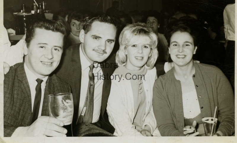 Thomas & Anne MC Cann with Tommy & Pat Sheridan in the Pasis 1960s