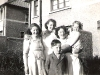 Mai O\'Callaghan with Dorothy, Kathleen O\'Reilly and Danny O\'Callaghan.