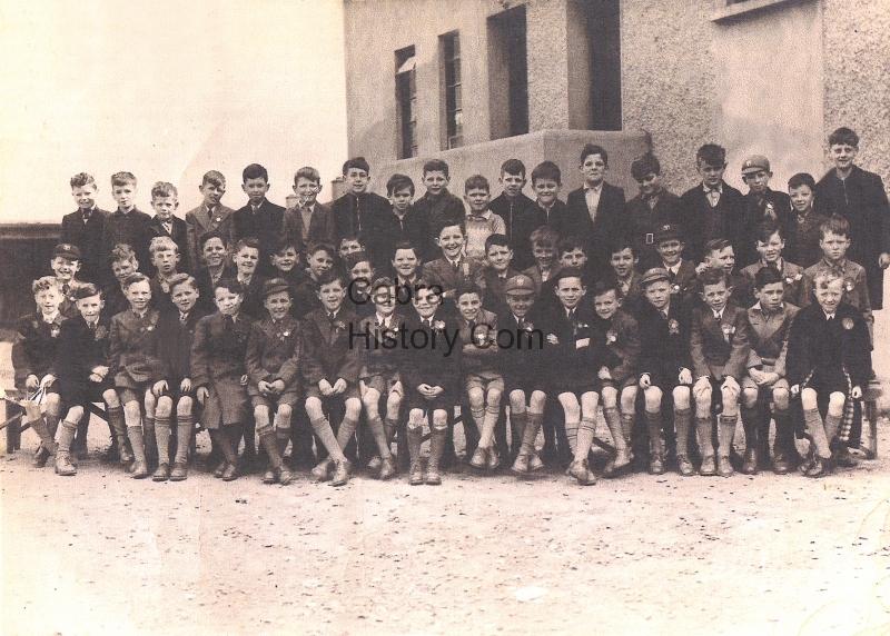 Finbars Confirmation Group 1952?
