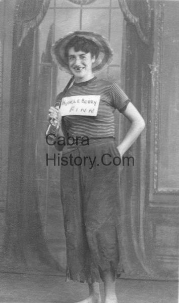 Ella Bryan Inver Road Tramps Ball 1953