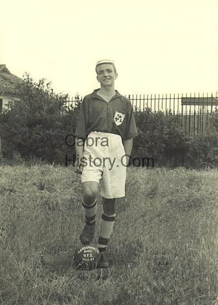 Michael Whelan Schoolboy International Ireland versus Wales Dalymount Park 1952