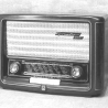 A Philips Bakelite Radio.
