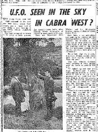 UFO Cabra July 1967