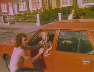 Tony Lawless & nephew Keith Myers 1st car fx