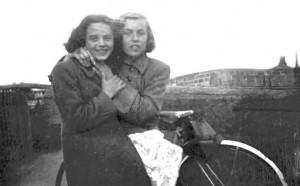 Chrissie Coffey & Patty Carey abt 1952