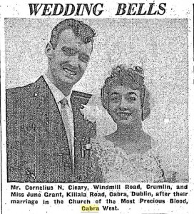 Wedding 15 Aug 1960