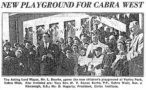 Playground March 1957