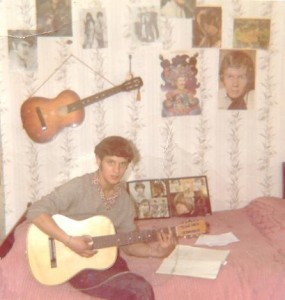 Playing my guitar 1966