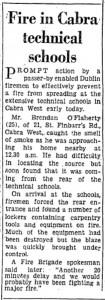 1963 Cabra Tech Fire